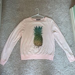 Wildfox pineapple sweater in great condition